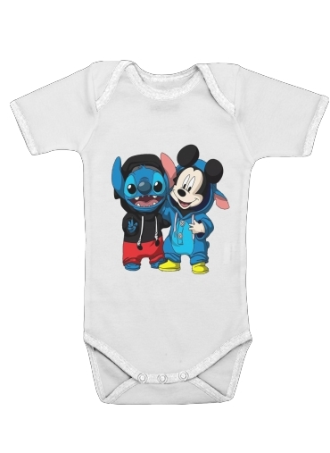Onesies Baby Stitch x The mouse
