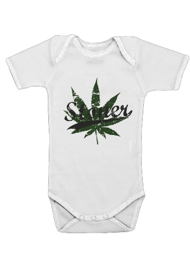 Stoner for Baby short sleeve onesies