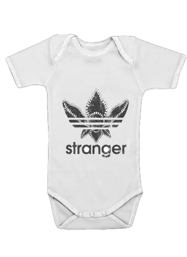 Onesies Baby Stranger Things Demogorgon Monster JOKE Adidas Parodie Logo Serie TV