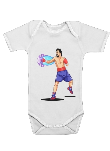 Street Pacman Fighter Pacquiao for Baby short sleeve onesies