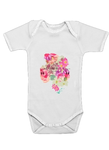 SUMMER LOVE for Baby short sleeve onesies