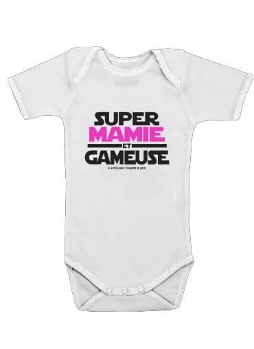 Onesies Baby Super mamie et gameuse