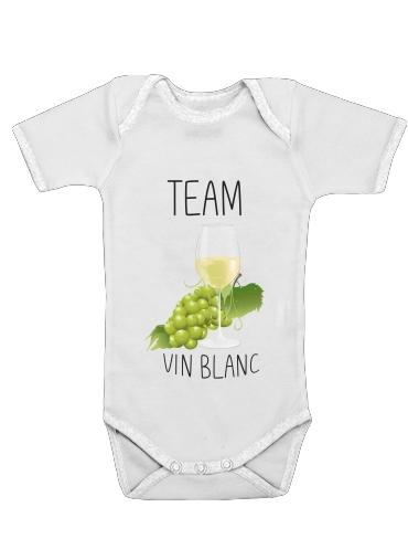 Onesies Baby Team Vin Blanc