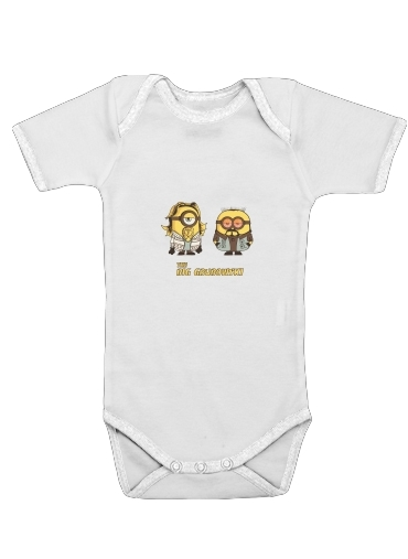 The Big Grubowski for Baby short sleeve onesies