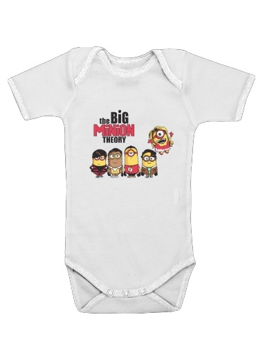 Onesies Baby The Big Minion Theory