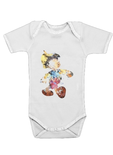 The Blue Fairy pinocchio for Baby short sleeve onesies