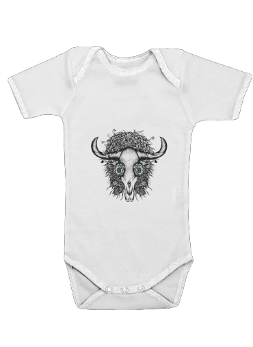 The Spirit Of the Buffalo for Baby short sleeve onesies