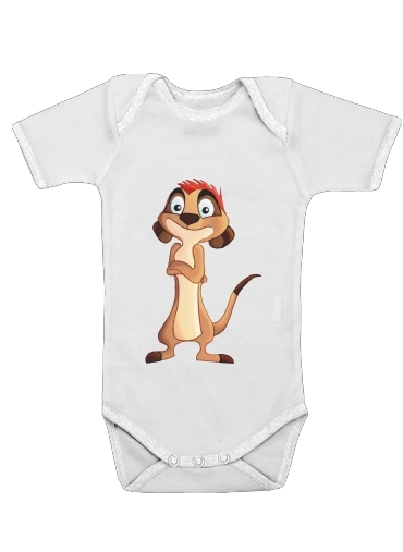 Timon Plash for Baby short sleeve onesies