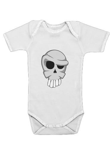 Onesies Baby Toon Skull