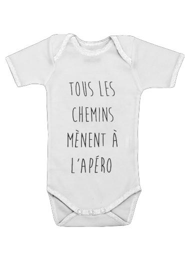 Onesies Baby Tous les chemins menent a lapero