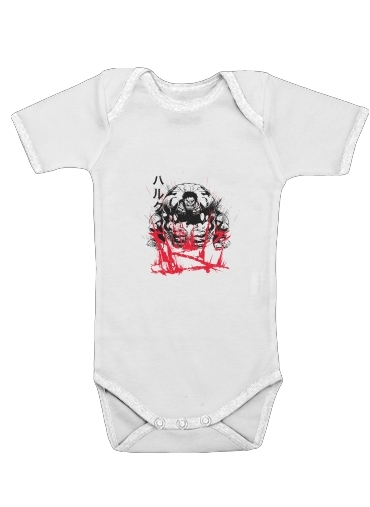 Traditional Anger for Baby short sleeve onesies