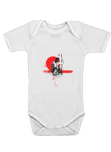 Onesies Baby Trash Polka - Female Samurai
