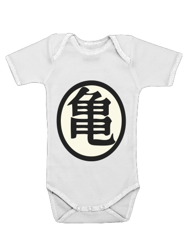 turtle symbol for Baby short sleeve onesies