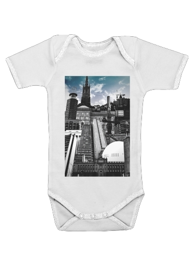 Urban Stockholm for Baby short sleeve onesies