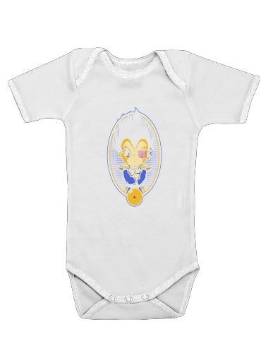 Vegeta Portrait for Baby short sleeve onesies