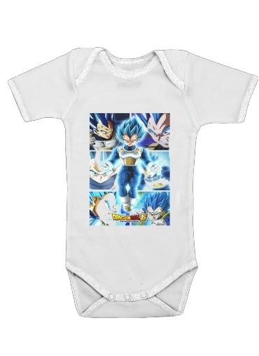 Onesies Baby Vegeta SSJ Blue
