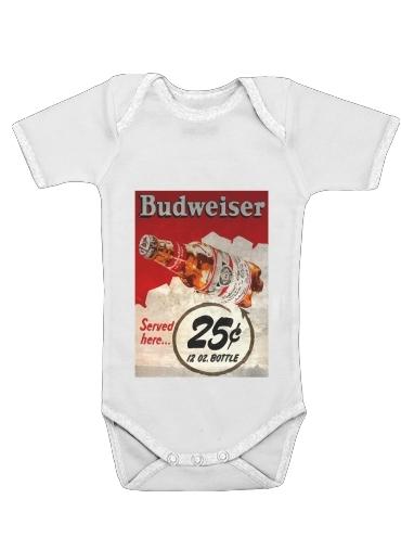 Onesies Baby Vintage Budweiser