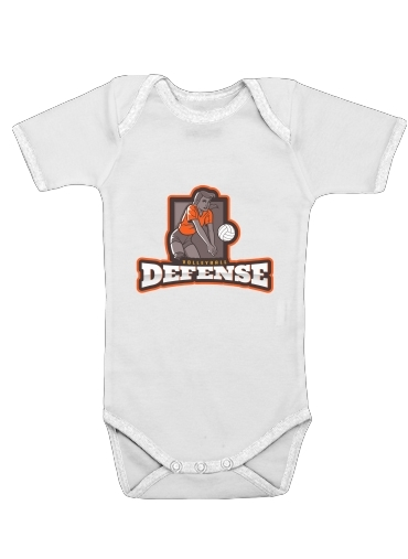 Onesies Baby Volleyball Defense