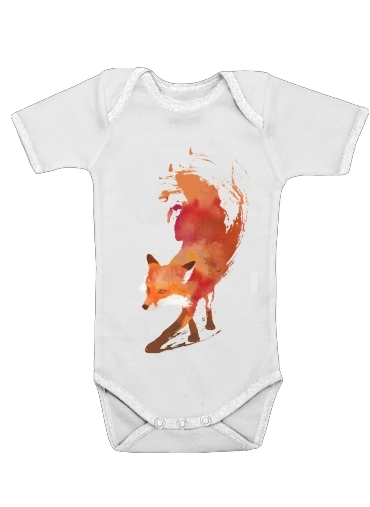 Fox Vulpes for Baby short sleeve onesies