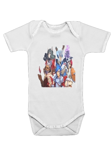 Wargroove Tactical Art for Baby short sleeve onesies
