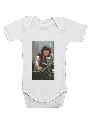warrior2 for Baby short sleeve onesies