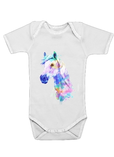 Onesies Baby watercolor horse
