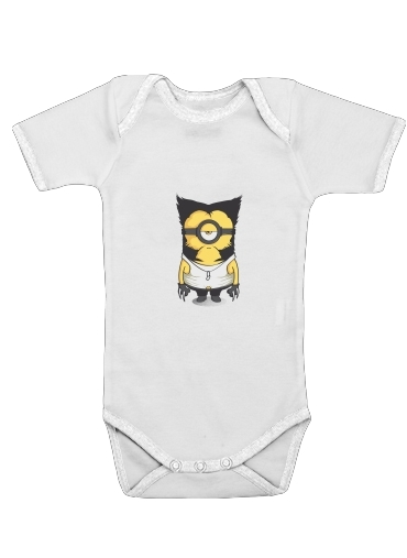 Wolvenion for Baby short sleeve onesies