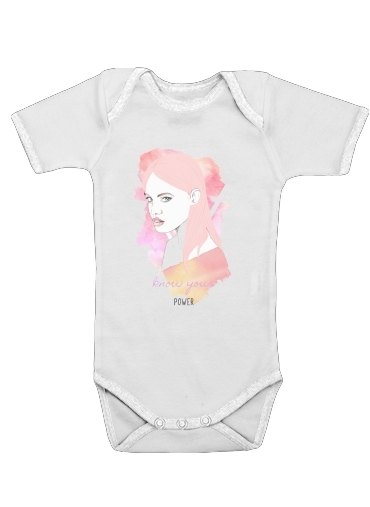 Onesies Baby Woman Fight For power