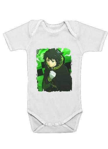 Onesies Baby yuichiro green
