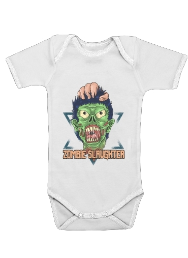 Onesies Baby Zombie slaughter illustration
