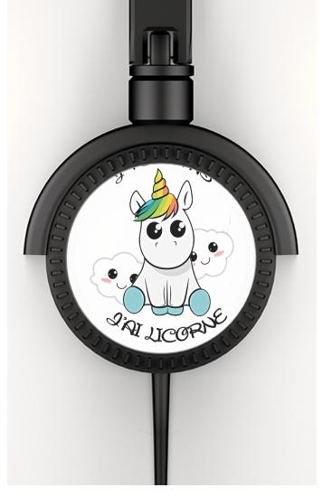 Je peux pas j'ai licorne for Stereo Headphones To custom