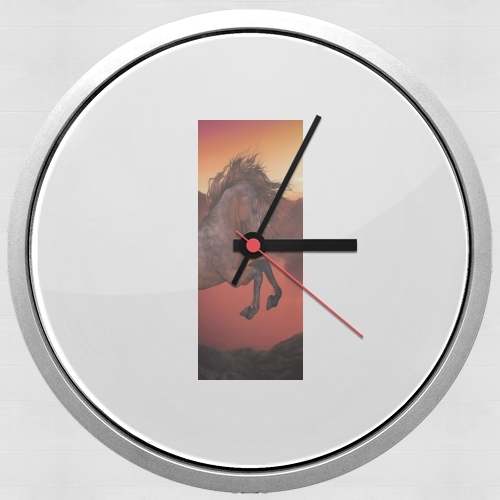 A Horse In The Sunset for Wall clock