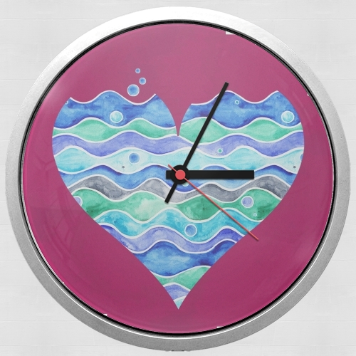 A sea of Love (purple) for Wall clock