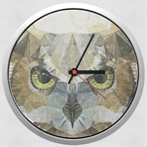 abstract owl for Wall clock