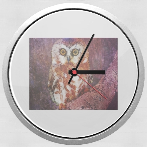 abstract cute owl for Wall clock