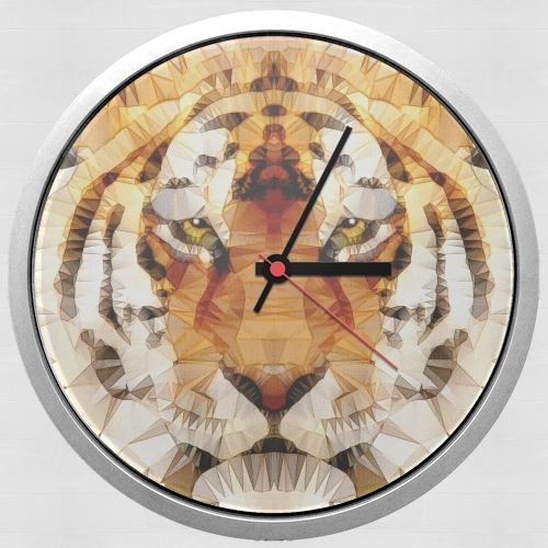 abstract tiger for Wall clock