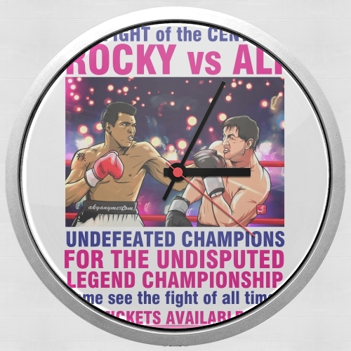 Ali vs Rocky for Wall clock