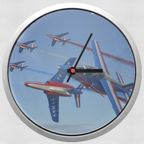 Alpha Jet Dassaut Avion Patrouille de France for Wall clock