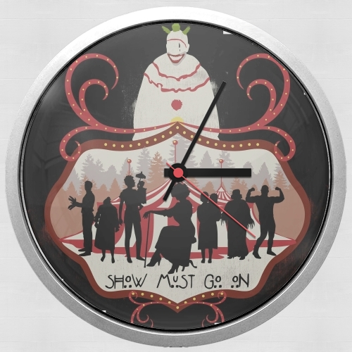 American circus for Wall clock