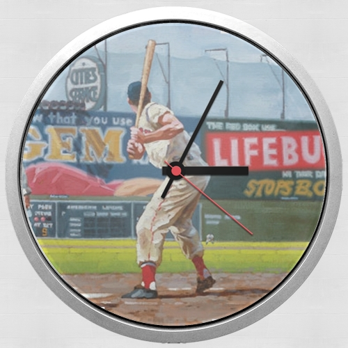Baseball Painting for Wall clock