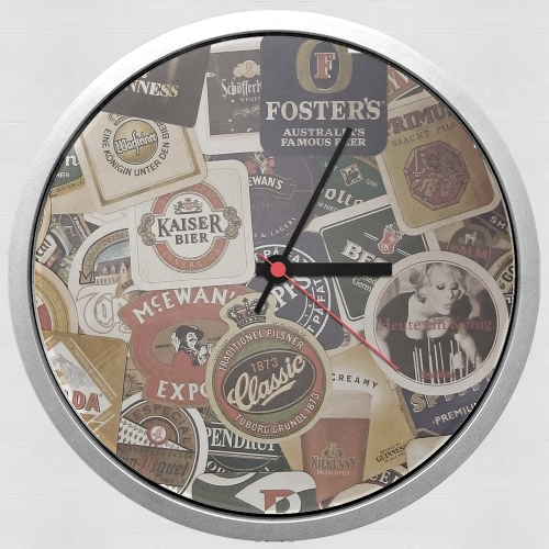 Beers of the world for Wall clock
