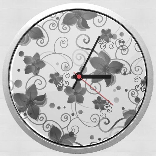 Black Flower for Wall clock