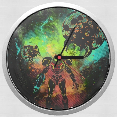 Bounty Hunter Art for Wall clock