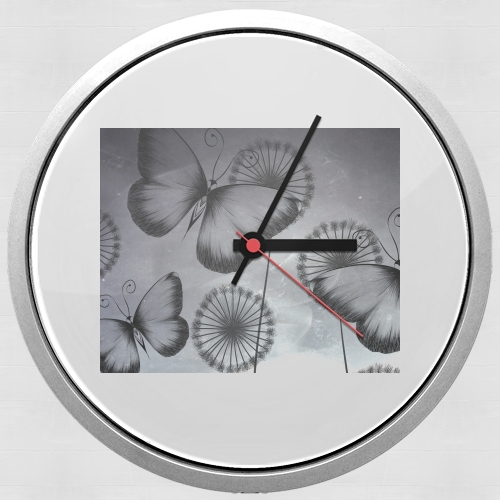 Butterflies Dandelion for Wall clock
