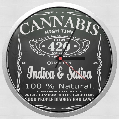 Cannabis for Wall clock