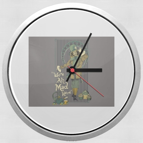 Chapelier fou for Wall clock
