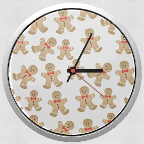 Christmas snowman gingerbread for Wall clock