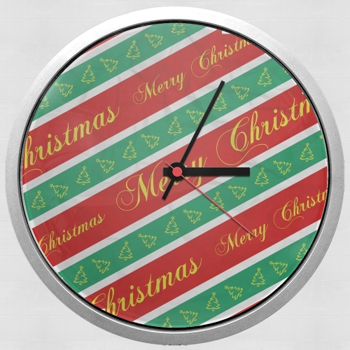 Christmas Wrapping Paper for Wall clock