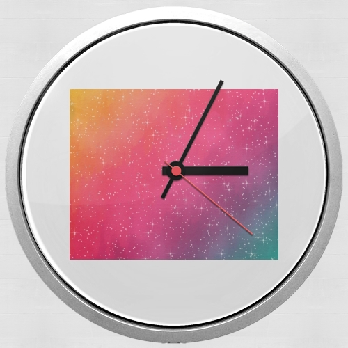 Colorful Galaxy for Wall clock
