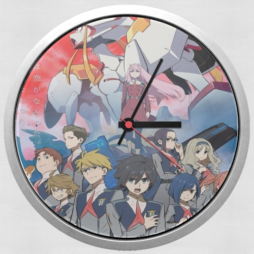 darling in the franxx for Wall clock